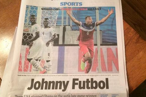John Brooks Dubbed 'Johnny Futbol' After World Cup Game-Winner Against Ghana