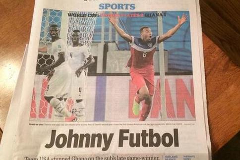 John Brooks Dubbed 'Johnny Futbol' After World Cup Game-Winner Against Ghana