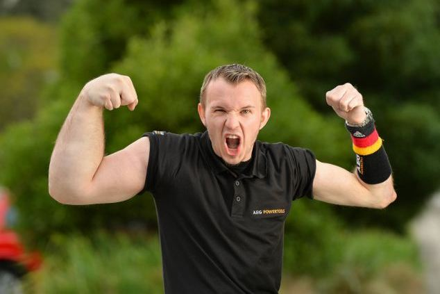 Man with 'Popeye' Arm Has Turned into Champion Arm Wrestler