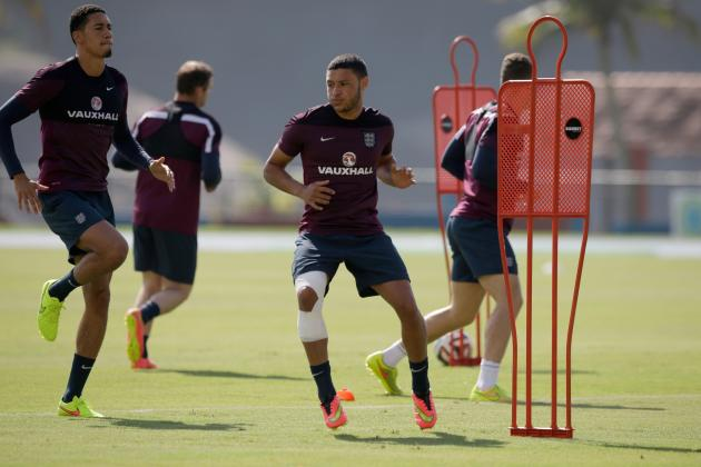 Alex Oxlade-Chamberlain and Ross Barkley Can Spark England vs. Uruguay
