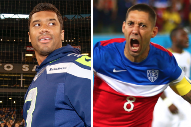 Russell Wilson Congratulates 'Cliff Dempsey' After USMNT Win over Ghana