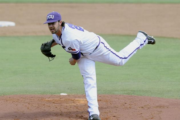 College World Series 2014: Viewing Info, Top Prospects to Watch for TCU vs. UVA