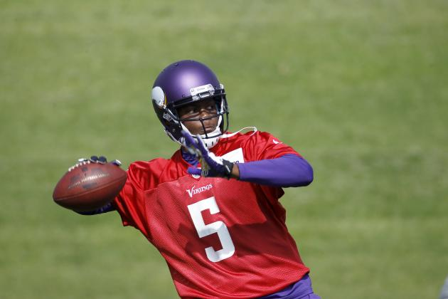 Teddy Bridgewater vs Matt Cassel vs Christian Ponder: Vikings QB Battle Updates