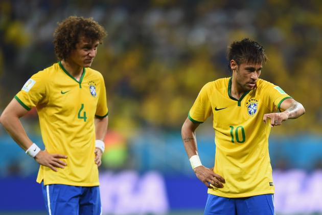 Twitter Reacts to Neymar, David Luiz's Performances from Brazil vs. Mexico