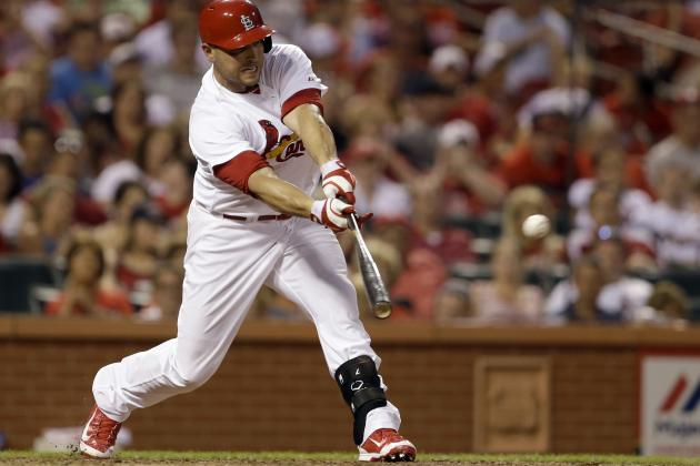 St. Louis Cardinals' Matt Holliday Reaches 1,000 RBI for Career