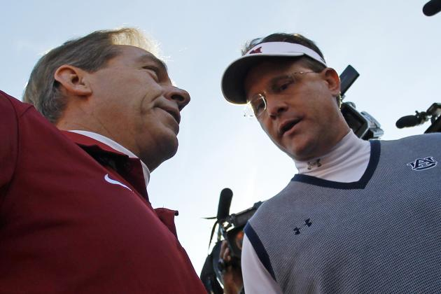 How Nick Saban Will Get Even with Auburn, College Football Gods in 2014