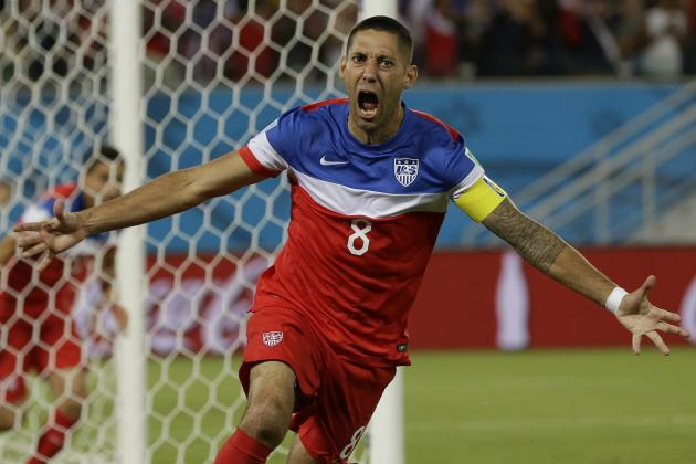 Team USA's Clint Dempsey Scores 5th-Fastest Goal in World Cup History