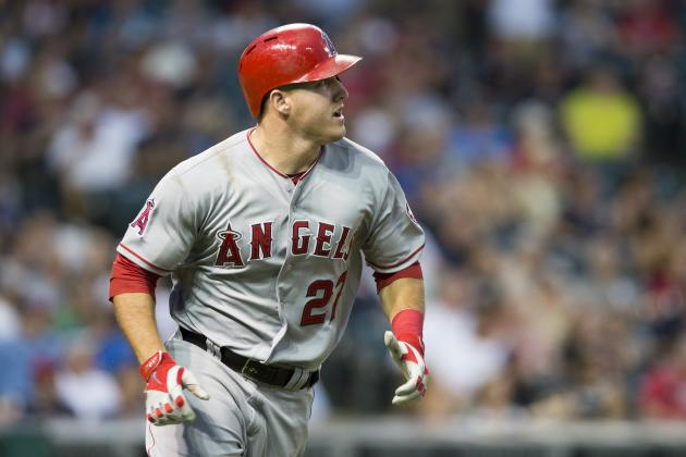 Trout's 2 HRs Back Another Shoemaker Win