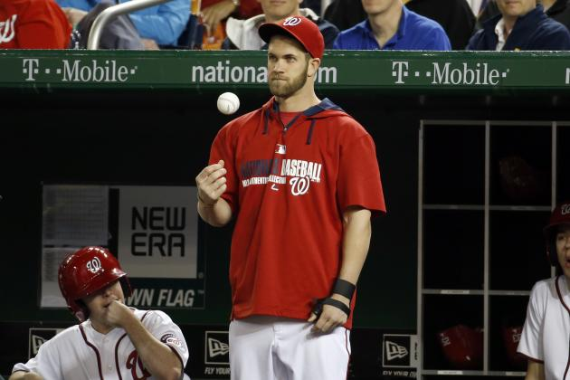 Bryce Harper Making Progress after Thumb Surgery, Back to Nationals Soon