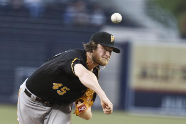 Gerrit Cole Showing Progress, Pirates Hope 100 MPH Ace Returns Quickly