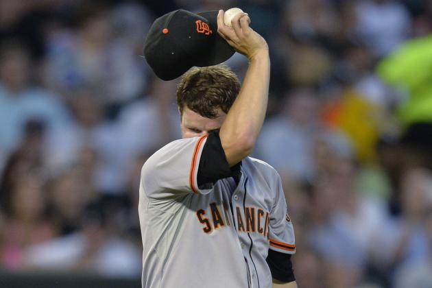 Trying to Dissect Matt Cain's Struggles for SF Giants