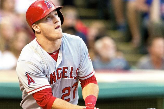 Scorching-Hot Mike Trout's 2-Homer Outburst Highlights Lead in AL MVP Race