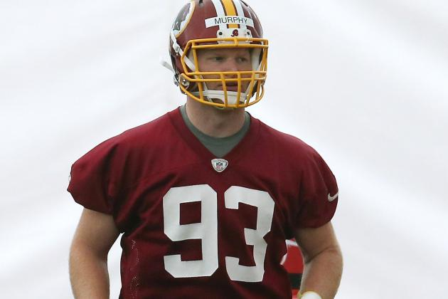 Redskins' Trent Murphy Lining Up at a Variety Ofpositions