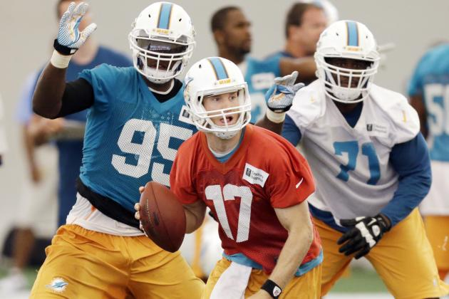 Offense Struggles During First Day of Dolphins MiniCamp