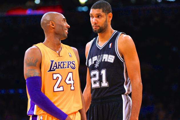 Has Tim Duncan Surpassed Kobe Bryant as Generation's Best Superstar?