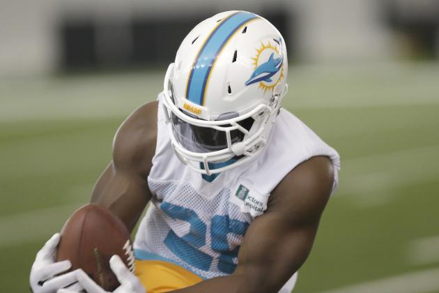 Lamar Miller Continues to Start, Joe Philbin Defends Knowshon Moreno
