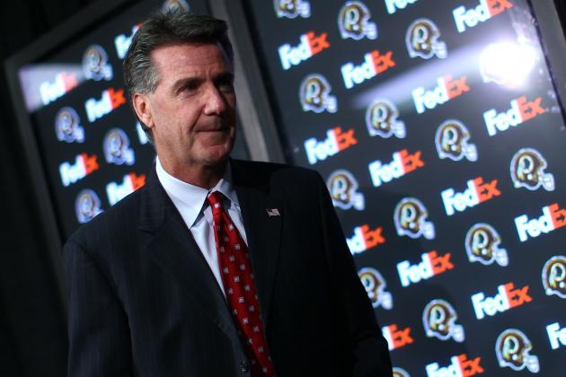 Bruce Allen Claims 'We're Fine' After Redskins Lose Trademark Case