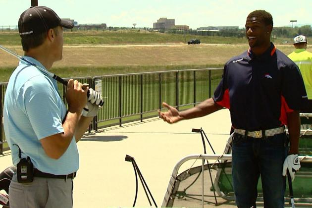 Emmanuel Sanders Learned to Play Golf by Watching YouTube Videos