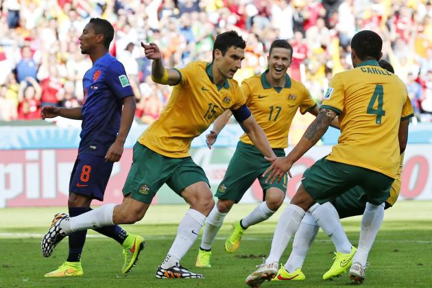 Twitter Reacts as Mile Jedinak Scores Penalty Kick After Handball Decision