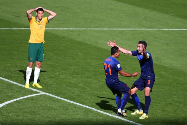 Australia vs. Netherlands: Live Player Ratings