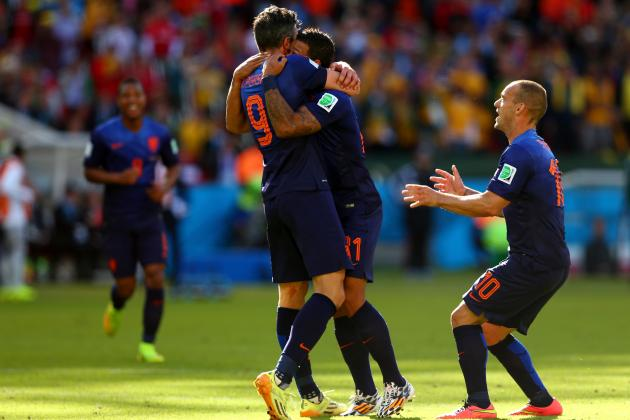 Australia vs. Netherlands: Van Gaal's Switch to 4-3-3 Wins Oranje the Game