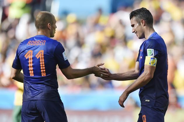 Twitter Reacts to Robin Van Persie, Arjen Robben's Performances vs. Australia