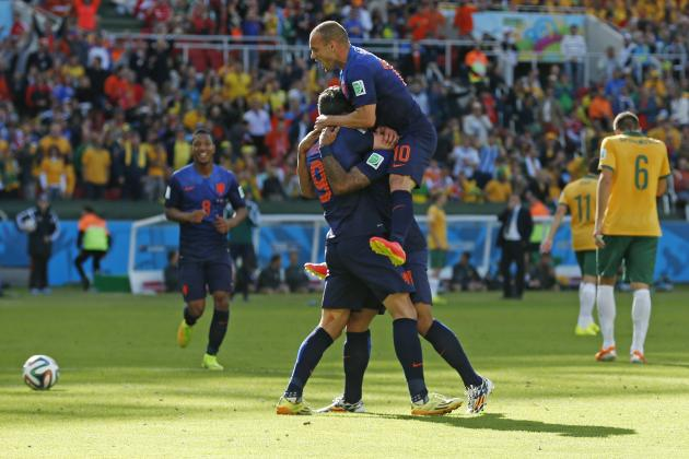 World Cup 2014 Scores: Day 7 Results, Latest Schedule and Predictions for Day 8