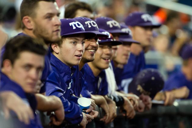 College World Series 2014: Viewing Info, Prospects to Watch for TCU vs. Ole Miss