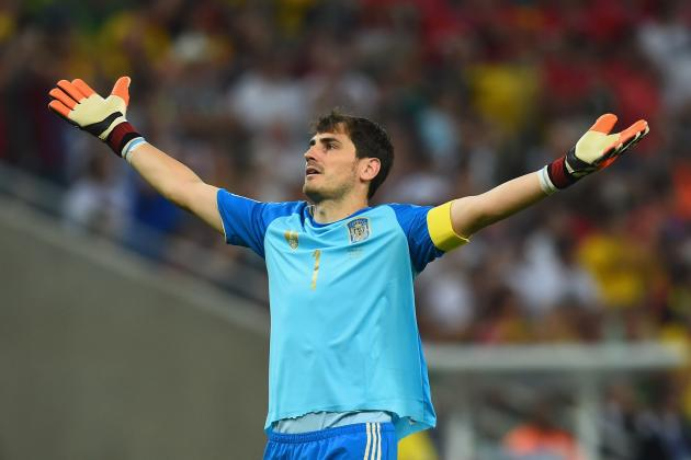 Twitter Reacts to Diego Costa, Iker Casillas' Performances vs. Chile