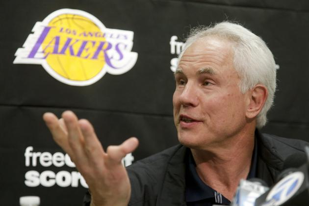 Report: Lakers Leaning Toward Keeping No. 7 Draft Pick Rather Than Trading Down