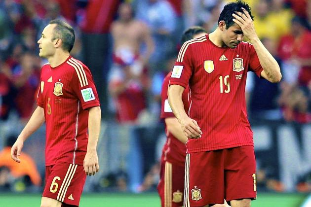 Spain vs. Chile: World Cup Group B Score, Grades and Post-Match Reaction