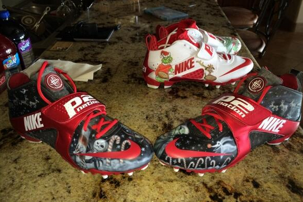 Patrick Peterson Shows Off Awesome Cleat Collection