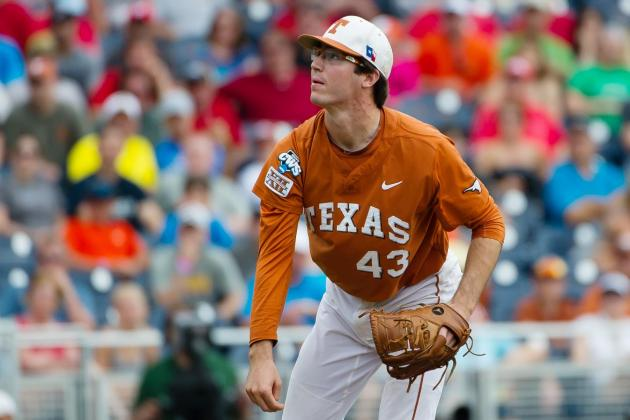 College World Series 2014: MLB Prospects to Watch in Texas vs. UC Irvine Clash