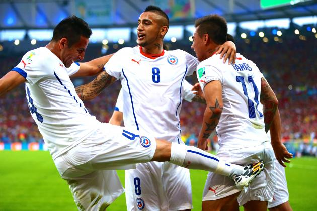 Chile Announce Their Intentions with Historic World Cup Victory over Spain