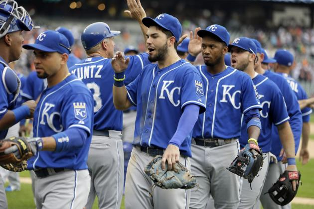 Kansas City Royals in 1st Place After 70 Games for 1st Time in over a Decade