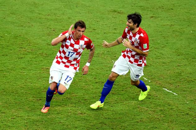 Cameroon vs. Croatia: Alex Song Red Card Paves Way for Vatreni Demolition