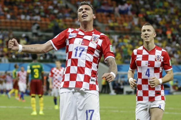 Twitter Reacts to Mario Mandzukic, Ivan Perisic's Performances vs. Cameroon