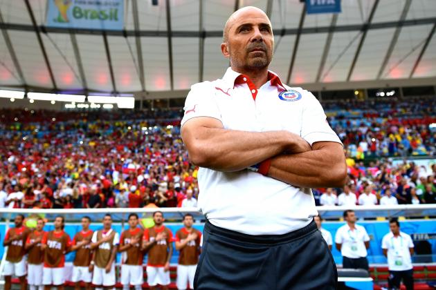 Spain vs. Chile: Sampaoli's High-Press, High-Intensity Strategy Destroys La Roja