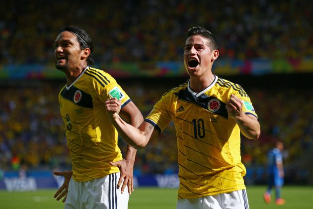 Colombia vs. Ivory Coast: Tactical Preview of World Cup Group C Match