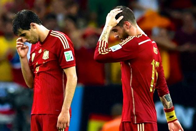 World Cup Daily Digest: Spain Abdicate the Throne, Chile & Netherlands March on