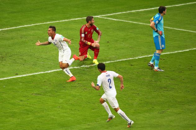 How the World Cup Has Gone Wrong for Spain and Right for Chile