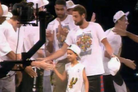 Watch Live: Spurs Alamodome Ceremony
