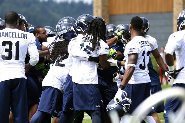 Richard Sherman Involved in Scuffle During Seahawks Minicamp