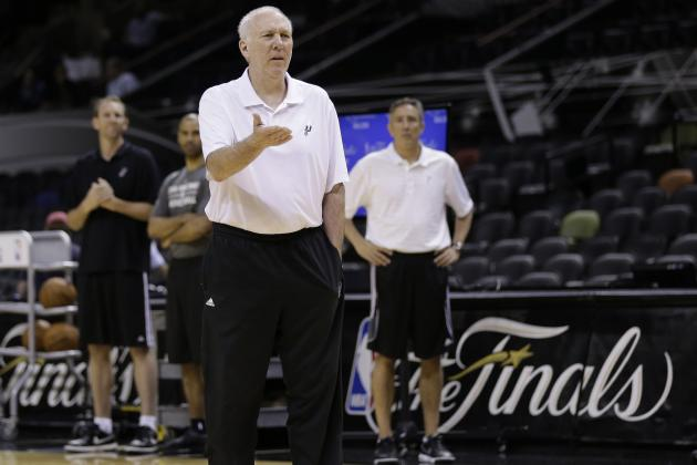 Gregg Popovich Setting the Standard in Modern Day X's and O's