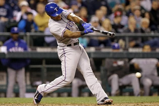 Rangers' Adrian Beltre 5 Hits Shy of 2,500 for His Career