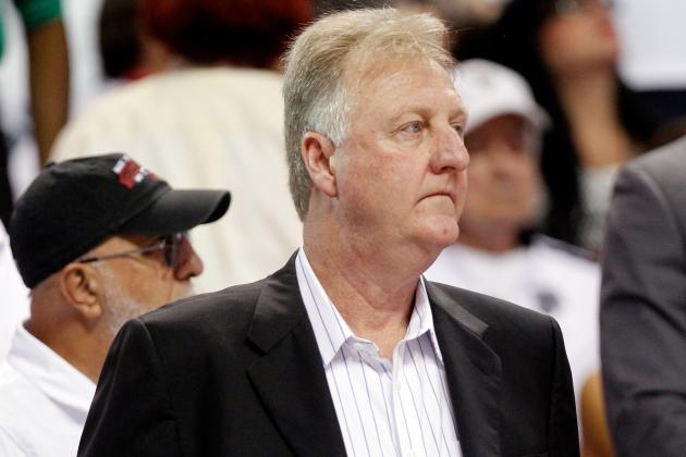 Larry Bird Thanks Pacers' Fans