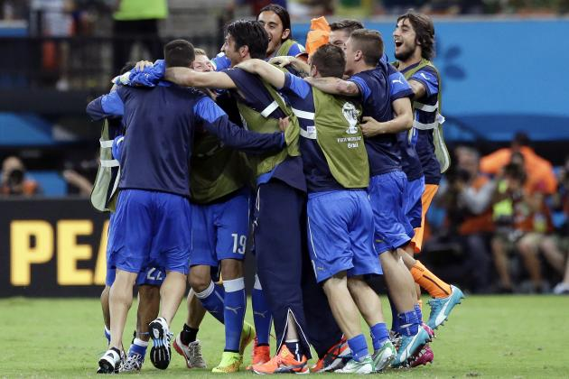Italy vs. Costa Rica: Date, Time, Live Stream, TV Info, 2014 World Cup Preview