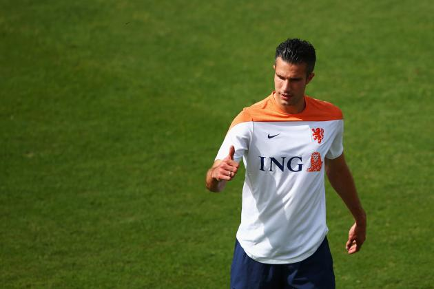 Robin van Persie's World Cup Form Is Cause for Manchester United Optimism