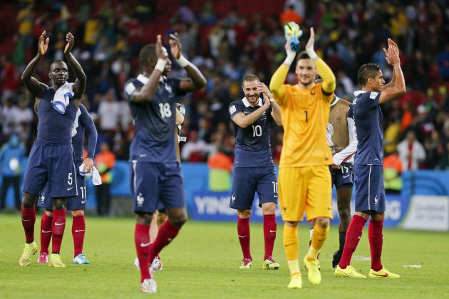 Switzerland vs. France: Date, Time, Live Stream, TV Info, 2014 World Cup Preview