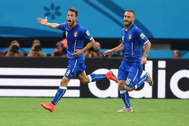 Italy vs. Costa Rica: Tactical Preview of World Cup Group D Match